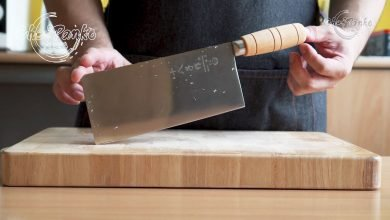 Photo of Shi Ba Zi Zuo Chinese Cleaver Review – Vegetable Cleaver SD-2