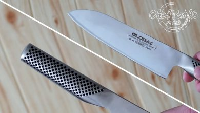 Global Santoku Knife Review - G46 Classic 18cm (7 inches)