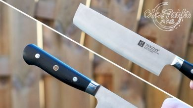 Photo of Xinzuo Nakiri Knife review – 440C steel (Yun Series)